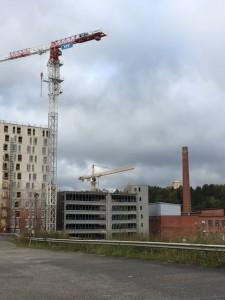 Kankaan alueelle rakennetaan parhaillaan suurta pysäköintitaloa, vanhusten  palvelutaloa sekä 15-kerroksista opiskelijaasuntotornia.